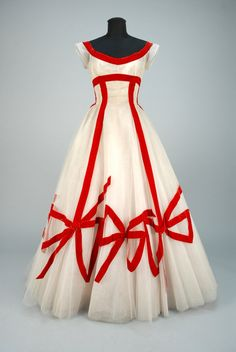 Anne Lowe ball gown, 1950′sFrom Whitaker Auctions