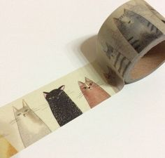 Washi Tape (30mm x 5m) (cat): - What more to say other than we just LOVE cool stuff!