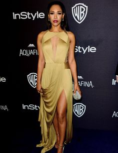 Candice Patton attends InStyle and Warner Bros. 73rd Annual Golden Globe Awards Post-Party (January 10, 2016)