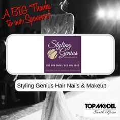 Thanks to Styling Genius Hair Nails & Makeup for your sponsorship! We appreciate your support! #TMSA17 #TMSASponsor