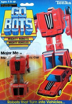 gobots major mo | gobots major mo transforming robot tonka $ 45 00