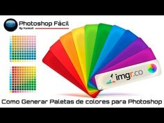 Como generar paleta de colores para Photoshop - YouTube