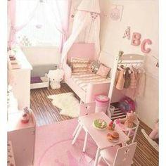 TOTALLY PINK!!! Раздвижная кровать, светло-розовый BUSUNGE - Раздвигается – длину можно регулировать по мере роста ребенка. - Реечное дно из массива дерева обеспечивает оптимальную поддержку. Мин ...