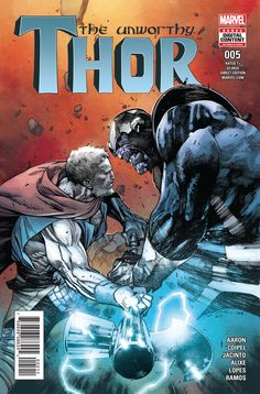 """""""The Unworthy Thor #5"""" first look"""