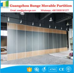 Gypsum Board Operable Partition Walls For Conference Room