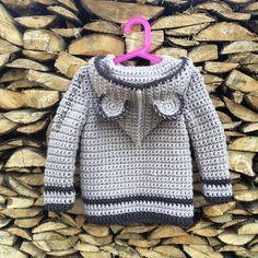 Самых сладких снов☕️ #любовь_с_первой_петельки #lavka_petelka Crochet Coat, Crochet Bebe, Easy Crochet, Free Crochet, Knitting For Kids, Crochet For Kids, Hand Knitting, Baby Boy Cardigan, Crochet Baby Clothes