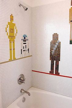 Geek shower