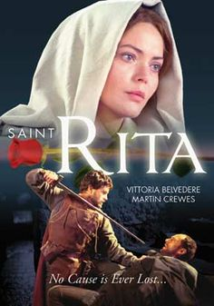 St. Rita, patron saint of the impossible & my personal patron saint. Watch the movie!