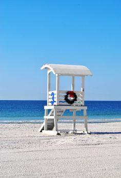 Coastal Christmas - Alabama Gulf Coast. My heart aches that I'm not having a gulf coast Christmas this year.