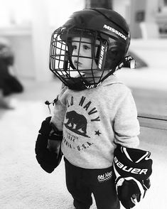 Dreamin of the big leagues! Its a good thing Lincoln has a VERY experienced gappa (grandpa) that can teach him the ropes!  . . . . . . . . . . . . . . . . . . . . . . . . . . #hockey #sports #canada #canadian #dreams #goals #toddlers #toddlersofinstagram #toddler #toddlerlife #cute #cutie #lincoln #myson #momswithcameras #happy #love #socute #cuteboys #nhl #friday #fridaynight #goodvibes #oldnavy #bauerhockey #boys #momlife