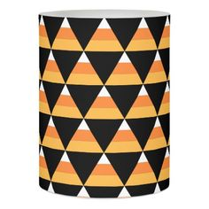 Candy Corn Halloween Flameless Candle - autumn gifts templates diy customize