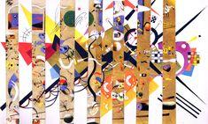"#Kandinsky - ""Collage"".  ""Gravatar""?"