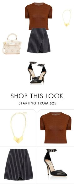 """Untitled #12628"" by explorer-14576312872 ❤ liked on Polyvore featuring Elvi, New Look, Valentino and ZAC Zac Posen"