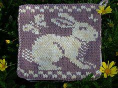 Ravelry: Rabbit Pot Holder pattern by Sue Gregori