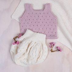 Bluum singlet og ballongbukse i Pure Eco Baby Wool - Bluum Crochet Baby, Knit Crochet, Baby Barn, Eco Baby, New Hobbies, Diy For Kids, Pure Products, Wool, Knitting