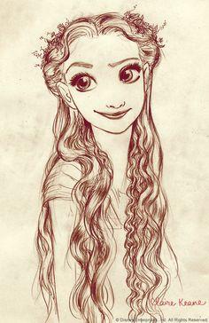 Rapunzel  | via Tumblr