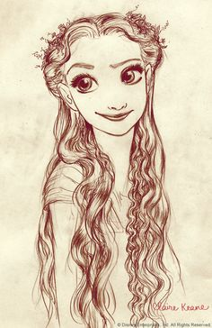Rapunzel  | via Tumblr