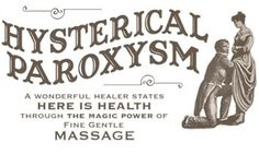 Anyone feeling hysterical today? Masturbation used to be prescribed and 'dosed out' by doctors to help cure women's hysteria. Doctor doctor...! #vintage #vintageads #vintageadvertising #masturbation #doctor #hysterical #medical #treatment #health #healthbenefits #calmthenerves #women