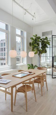 Radiohus Pendant by Louis Poulsen Condo Interior Design, Interior Design Minimalist, Japanese Interior Design, Condo Design, Minimalist Decor, Modern Minimalist, Minimal Home Design, White Interior Design, Top Interior Designers