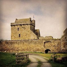 My great grandmother's birthplace:   Christina Thomson Innes (b. 1881)  Balgonie castle, Glenrothes, Fife.