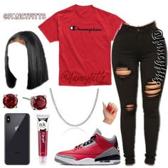 Boujee Outfits, Baddie Outfits Casual, Swag Outfits For Girls, Cute Teen Outfits, Teenage Girl Outfits, Cute Comfy Outfits, Girls Fashion Clothes, Dope Outfits, Teen Fashion Outfits