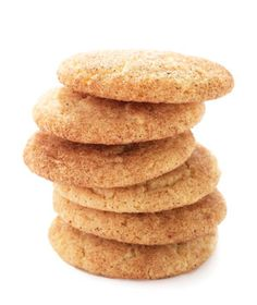 Snickerdoodles|One bite of these chewy cinnamon cookies will take you right back to childhood. They're perfect with a cup of hot cocoa on a cold winter day.