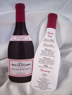 Wine Bottle Invites. For wine tasting party?