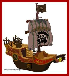 Pirate teaching theme. Great teaching ideas to inspire the kids in your class.