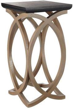 ShopStyle: Felix Wooden Sofa Side Table, Tall - Black