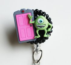 Hey, I found this really awesome Etsy listing at https://www.etsy.com/listing/271445776/disneys-monsters-inc-mike-wazowski-id