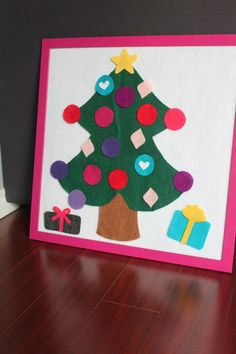 Christmas Tree Felt Board ‹ Mama. Papa. Bubba.Mama. Papa. Bubba.