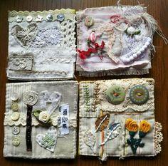 Textile collage by Marilen / ideas de bordados Marilen