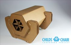 Cardboard Chair | The Annual Children's Review | RISD | Industrial Design