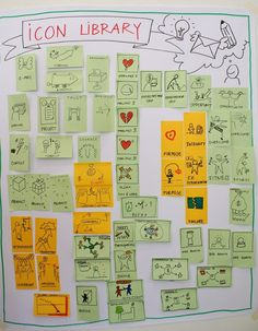 Day 2 Graphic Facilitation Recording Workshop  created by the workshop participants