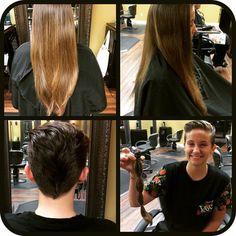 #wigsforkids Haircut by Lauren Bridges 636.527.2566
