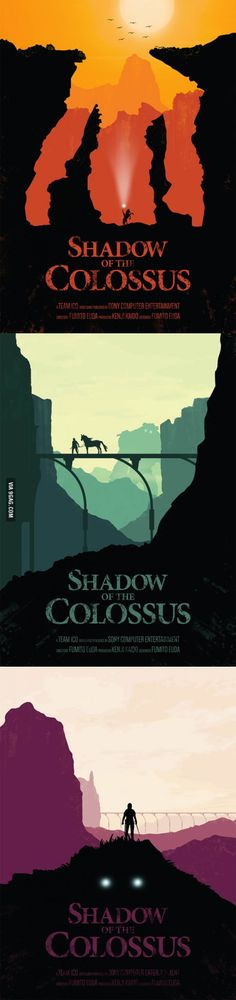 Awesome Fan-Made Posters for Shadow of the Colossus