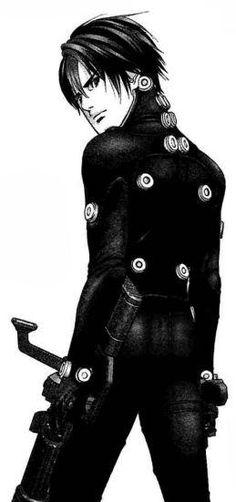 Kei Kurono from Gantz