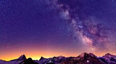 Find out: Switzerland Mountains Sky Stars wallpaper on  http://hdpicorner.com/switzerland-mountains-sky-stars/
