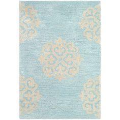 Safavieh Soho Hand-Tufted Turquoise / Yellow Area Rug Rug Size: