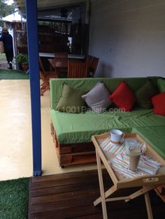 Pallet couch / daybed | 1001 Pallets