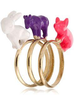 ¿Te has enamorado de estos anillos? ¡Nosotros sí!