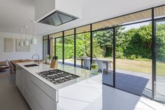 Grassodenridder architecten - The Art of Living Küchen Design, House Design, Interior Design, Cute Home Decor, House Windows, House Extensions, Cuisines Design, Modern Kitchen Design, Kitchen Interior