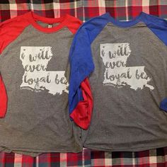 LA Tech Baseball Tees available at The Pewter Co.!