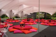 MTS Events | Stretch Tents Derbyshire | Luxury Toilet Hire