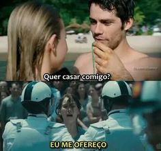 Euuuu aqui ó❤ Teen Wolf Memes, Teen Wolf Stiles, Dylan O'brien, Stydia, Movie Quotes, Hunger Games, Movies And Tv Shows, Memes Humor, Comedy