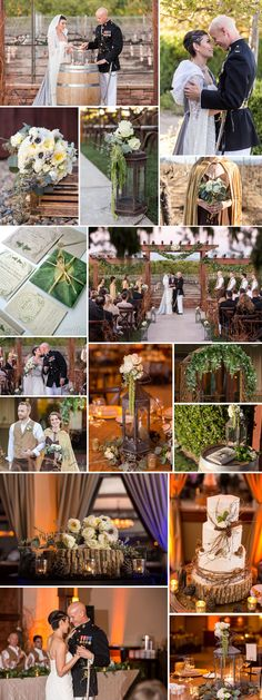 The Lord of the Rings wedding theme | Love the mix of whimsey and elegance of this woodland wedding! See the full wedding: http://www.xaazablog.com/the-lord-of-the-rings-wedding-diana-josh/