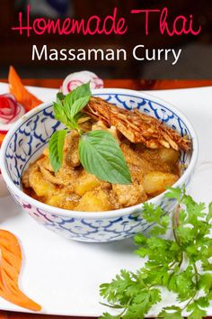 A delicious, tasty and hearty Thai massaman curry for any weeknight dinner or as part of a dinner party. Filling and mouthwatering recipe anyone can cook. Check out the recipe. Chicken Massaman Curry, Massaman Curry Paste, Thai Chicken, Spicy Chicken Recipes, Curry Recipes, Asian Recipes, Healthy Recipes, Easy Recipes, Cooking Recipes