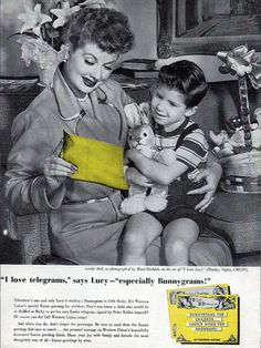 Lucille Ball and Western Union (1957)