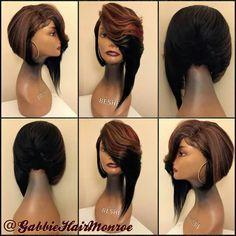 . Wig Styles, Curly Hair Styles, Natural Hair Styles, Weave Hairstyles, Girl Hairstyles, Hair Junkie, Birthday Hair, Hair Game, My Hairstyle