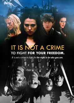 Merlin. It is not a crime to fight for your freedom.